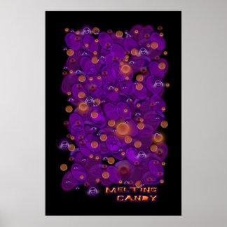Caramelo de fusión poster