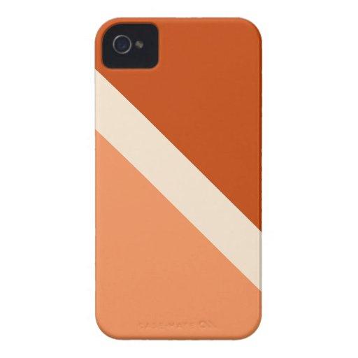 Caramelo de GEOSTRIPS Case-Mate iPhone 4 Fundas