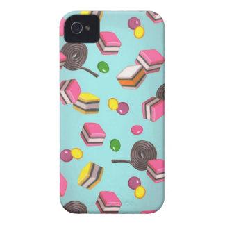 Caramelo de Kawaii iPhone 4 Case-Mate Carcasas