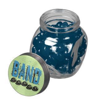 Caramelo de la BANDA - incluye el caramelo Jarras De Cristal Jelly Bely