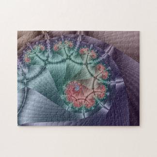 Caramelo de la cinta del fractal puzzle