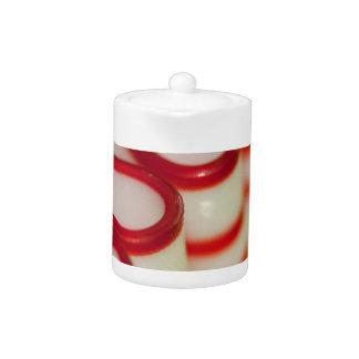 Caramelo de la cinta del navidad de la hierbabuena