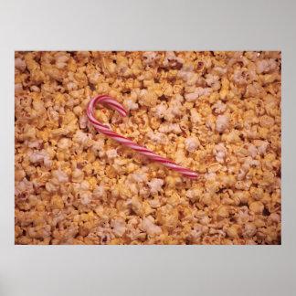 Caramelo de la palomitas de maíz poster