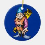 Caramelo de los duendes y del navidad de Santa Adorno De Navidad