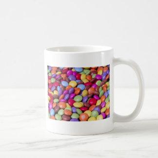 Caramelo de los dulces taza de café
