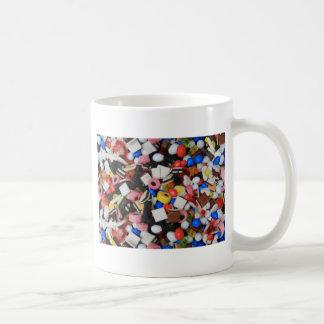 Caramelo de los dulces tazas