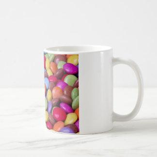 Caramelo de los dulces tazas de café