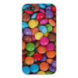 Caramelo de los sabelotodos rojos, azul, verde y d iPhone 5 carcasas