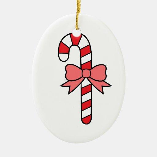caramelo de Navidad Adorno Ovalado De Cerámica