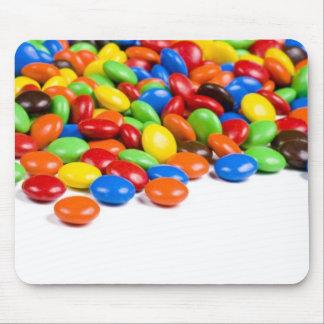 Caramelo del arco iris alfombrilla de ratones