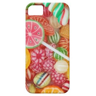 Caramelo del arco iris iPhone 5 carcasa