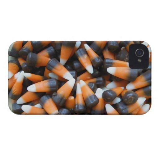 Caramelo del caramelo de Halloween iPhone 4 Carcasa