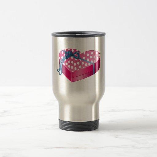 Caramelo del el día de San Valentín Taza