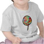 Caramelo del Lollipop del arte del pixel Camiseta
