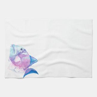 Caramelo del mar toallas de mano