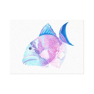 Caramelo del océano impresiones en lienzo estiradas