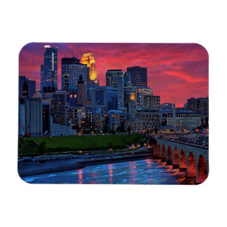 Caramelo del ojo de Minneapolis Imán Flexible