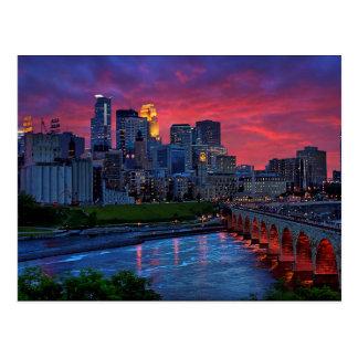 Caramelo del ojo de Minneapolis Postales