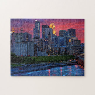 Caramelo del ojo de Minneapolis Puzzles