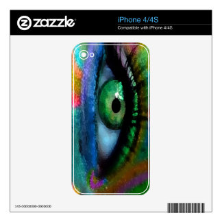 Caramelo del ojo skins para eliPhone 4