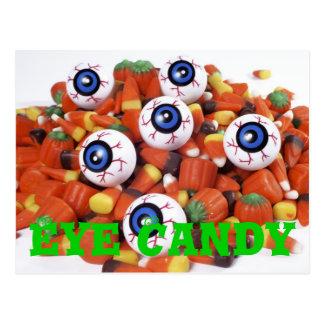 caramelo del ojo tarjetas postales
