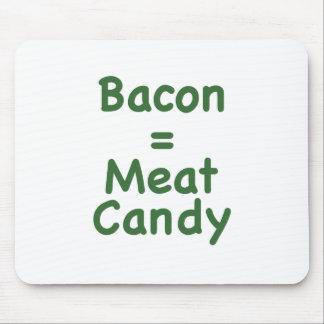 Caramelo del tocino = de la carne tapetes de ratones
