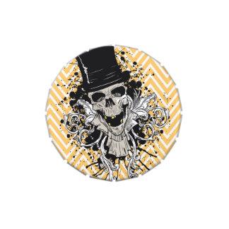 Caramelo del truco del cráneo de Halloween o del f Latas De Dulces