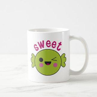 Caramelo dulce taza de café