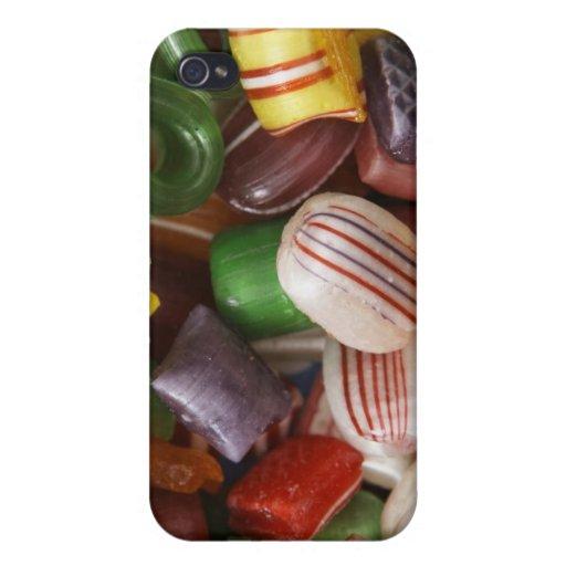 Caramelo duro, marco completo iPhone 4 carcasas