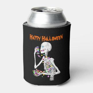 Caramelo esquelético de la consumición Halloween Enfriador De Latas