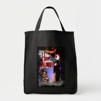 Caramelo etc. del feliz Halloween Bolsa Tela Para La Compra