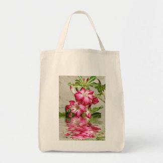 Caramelo floral del ojo bolsa tela para la compra