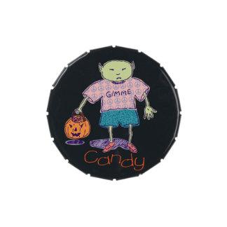 Caramelo Ghoulie de Gimme Frascos De Caramelos
