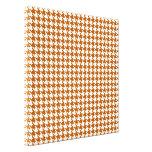Caramelo Houndstooth moderno en Emporiomoffa Lienzo Envuelto Para Galerías
