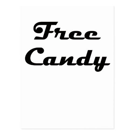 Caramelo libre postal