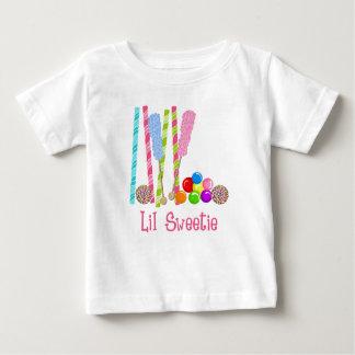 Caramelo, Lollipops y Gumballs oh mi Playera De Bebé