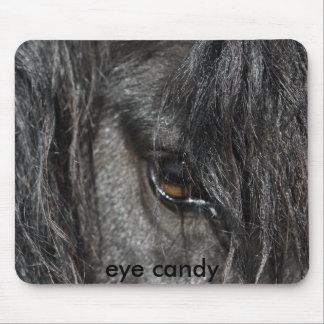 Caramelo Mousemat del ojo Tapetes De Ratón