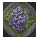 Caramelo púrpura del jacinto bandana