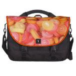 Caramelo redondo del naranja y del limón bolsas de portatil