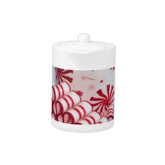 Caramelo rojo y blanco pasado de moda de la cinta