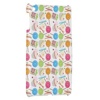 Caramelo y caso del iPad del modelo de los dulces  iPad Mini Protectores