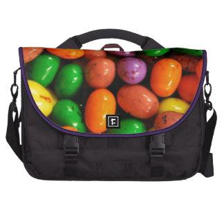 Caramelos coloridos del huevo bolsas para portatil