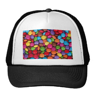 Caramelos coloridos gorro de camionero