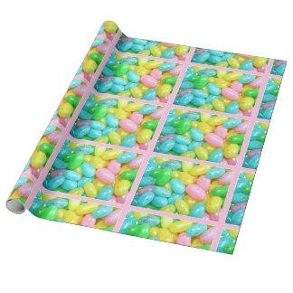 Caramelos de la haba de jalea papel de regalo