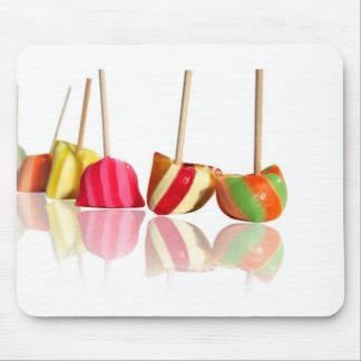 caramelos del colorfull alfombrillas de raton