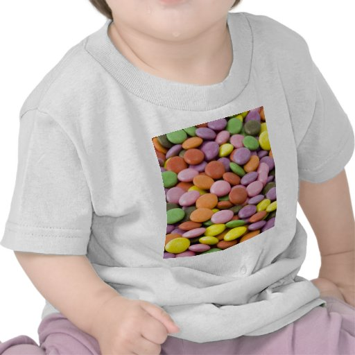 Caramelos dulces de Colourised Camisetas