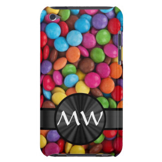 Caramelos mnogrammed multicolores iPod Case-Mate cárcasas