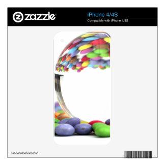 Caramelos que reflejan en una bola de cristal skins para eliPhone 4S