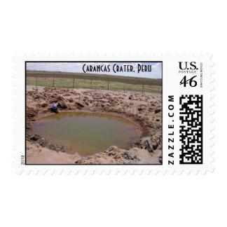 Carancas Crater 2 stamps