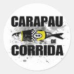 Carapau De Corrida Classic Round Sticker